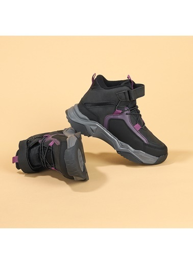 Kiko Kids Kiko Koray Günlük Cırtlı Erkek Çocuk Spor Bot Ayakkabı Renkli